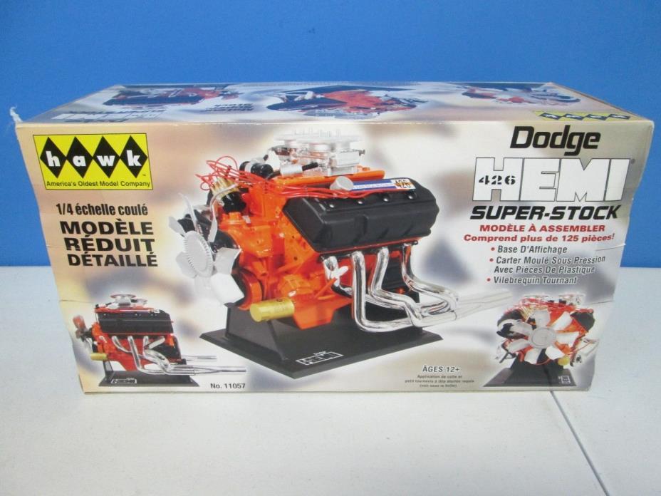 Hawk Dodge 426 Hemi Super Stock 1:4 Scale Engine