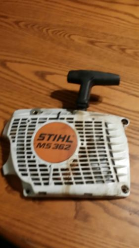 STIHL MS362 ORIGINAL PART recoil starter works free shipping
