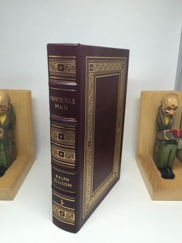 Invisible Man by Ralph Ellison Easton Press Leather Bound