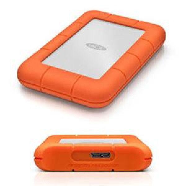 LaCie Rugged Mini 1TB 2.5in USB 3.0 External Hard Drive Backup Storage
