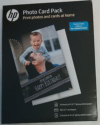 HP Photo Card Pack New