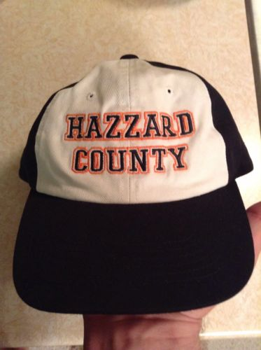 Dukes of Hazzard Hat Hazzard County BRAND NEW! RARE!