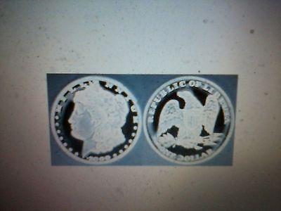 2000 Republic Of Liberia One Dollar Coin