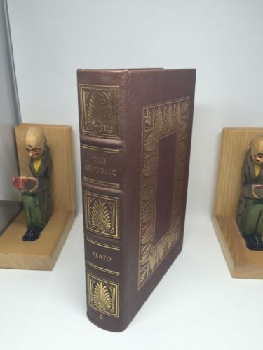 The Republic by Plato Easton Press Leather Bound