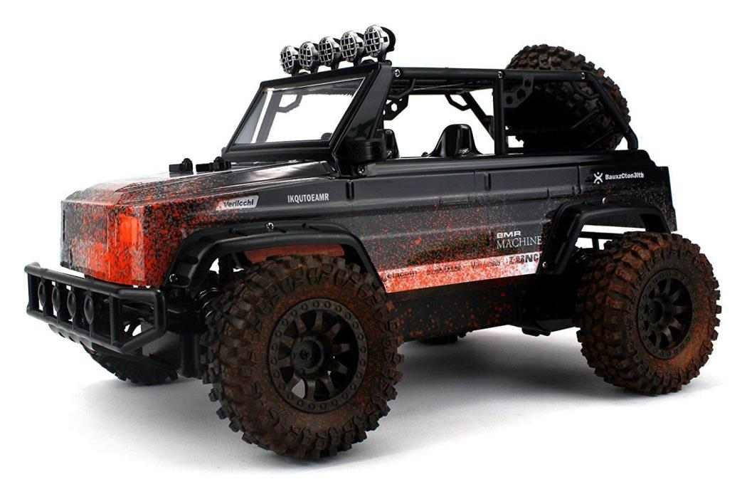 Mud Defender SUV Remote Control RC Truck 2.4 GHz PRO System BIG 1:12 Scale Size