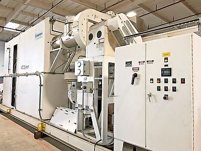2004 MUNTERS ZEOL 27,000 CFM VOC ABATEMENT SYSTEM IZS-2946-CT /THERMAL OXYDIZER