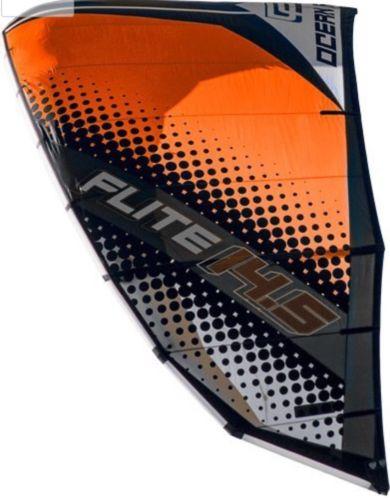 Ocean Rodeo Sports Flite High Performance Light Wind Kite (Gen 2 Orange 17m)