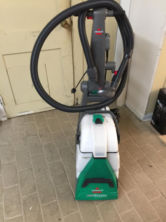 bissell big green deep cleaning machine slight damage save huge