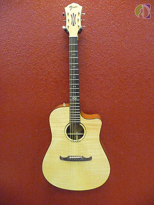 Fender T-Bucket 400CE Acoustic Electric Guitar, Flame Maple Top, Free Shipping