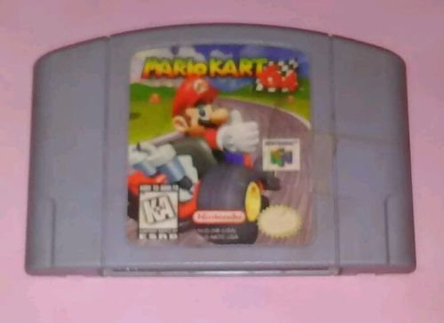 Mario Kart 64 (Nintendo 64, 1997) Cartridge Only N64