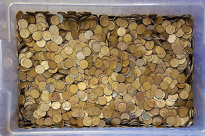 Two Pound Wheat Penny Bag Lincoln Cents From Large Unsearched Hoard