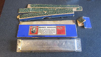 Vintage M. Hohner Germany Harmonica