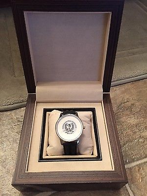 NFL NATIONAL FOOTBALL FOUNDATION WATCH WITH CASE not championship or ring