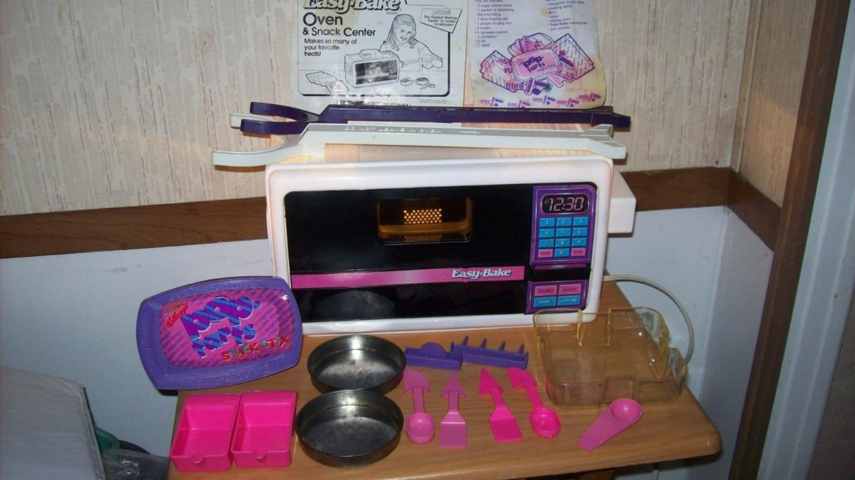 Easy Bake Oven with accessories