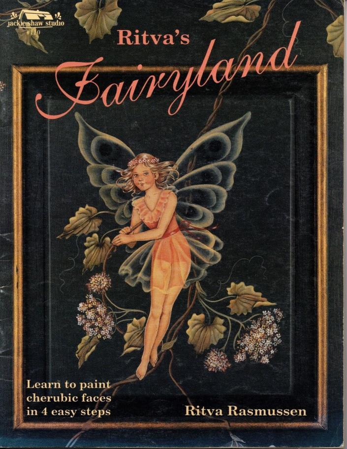 Ritva's Fairyland Learn to Paint Cherubic Faces Jackie Shaw Studio #110