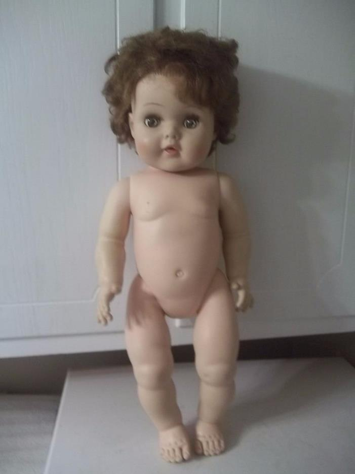 Vintage American Character TOODLES ? Rubber DOLL 20