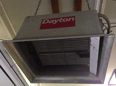 Dayton 3E133E Commercial Infrared Heater Natural Gas 60, 000 btu electric Ignite