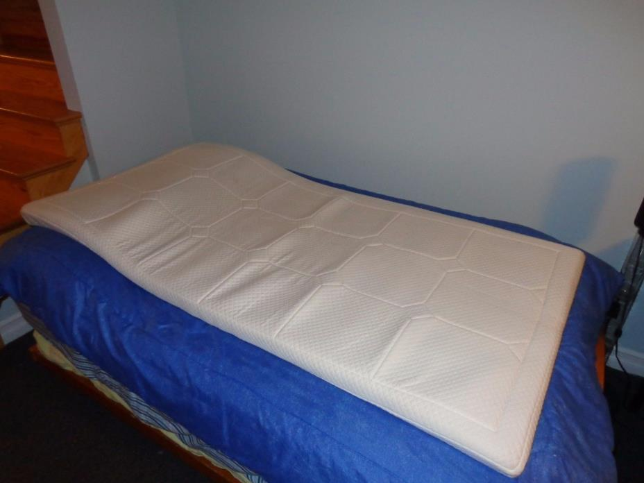 TWIN SIZE SOFTEX MEMORY FOAM THICK MATTRESS PAD BED TOPPER
