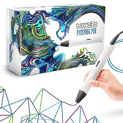 3D Printers MYNT3D Professional Printing 3D Pen with OLED Display