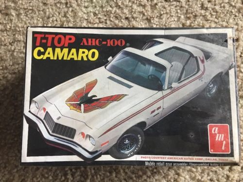 AMT 1977 Camaro T-Top AHC-100 Factory Sealed USA Made 76 76 77 2213