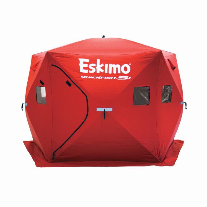 Eskimo Quickfish 5i Insulated Ice fishing house #24105