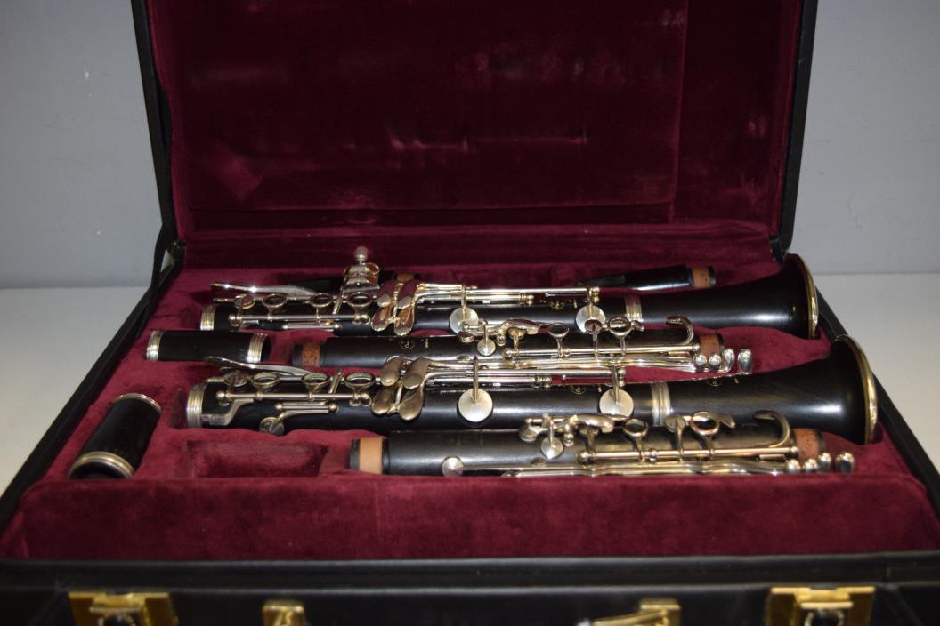 Buffet Clarinets R13 Bb And A In Case Professionally Checked