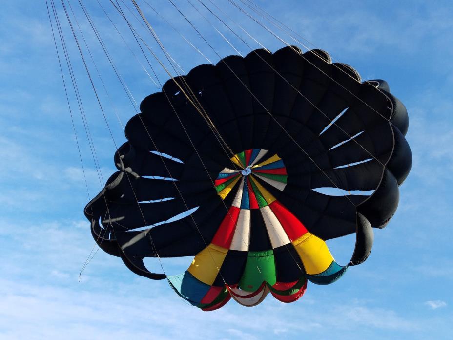 Paracommander Mark I Skydiving parachute display