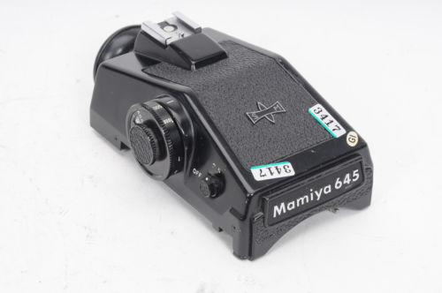 Mamiya 645 CDS Meter Prism Finder                                           #417