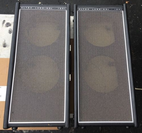 1 Vintage Altec Lansing 1201B 2x10 Guitar Speaker Cabinet EMPTY - 2 Available