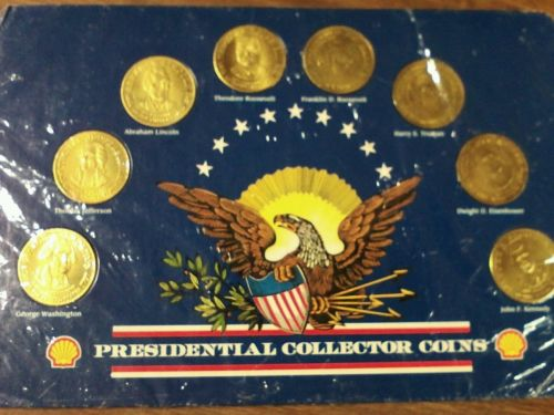 1992 Shell Presidential Collectors Coin Set