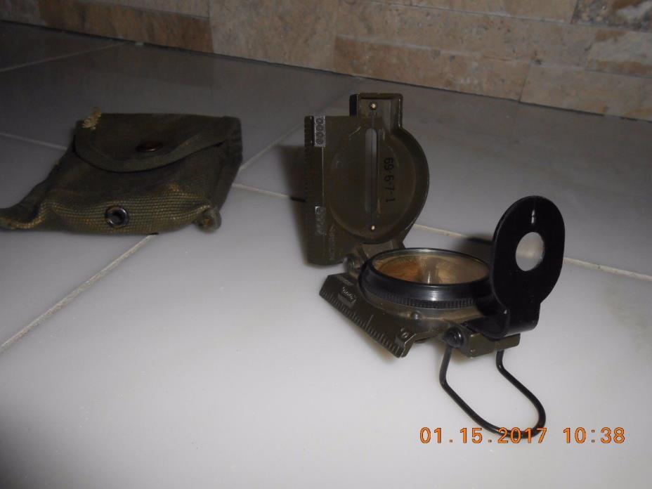 Compass, Pathfinder Union Inst. Vietnam Era issued Magnetic Compass 1969