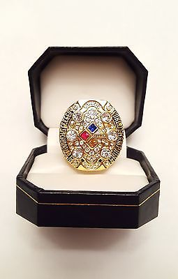 2008 Pittsburgh Steelers Super Bowl XLIII Championship Ring (Variation #2)