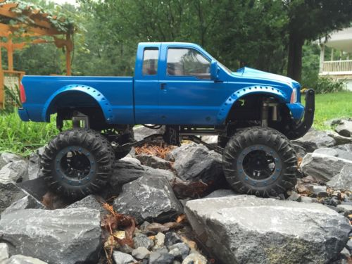 1/10 Rc Truck King Cab  4x4 Ford F-350  RTR 3speed,rc4wd Axial  Crawler
