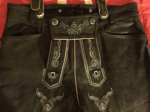 Vintage Skanbal Trachten Original Lederhosen