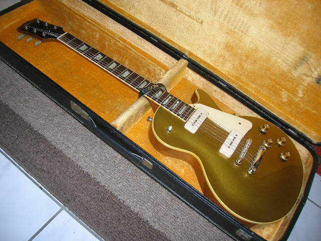 Gibson Early 1969 Les Paul Standard P-90 Goldtop One Piece Neck And Body KILLER