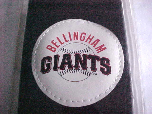 vintage unopened IOP Bellingham Giants Mariners baseball minor league sweatband