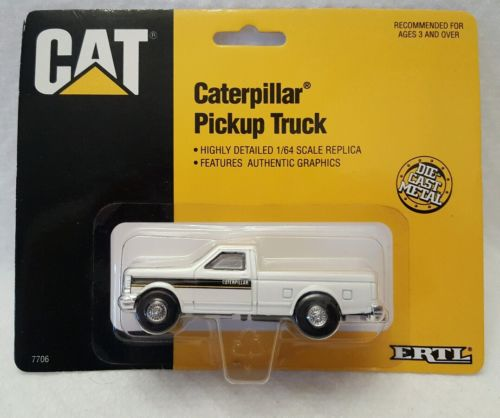 Ertl 1/64 Caterpillar (CAT) Pickup Truck