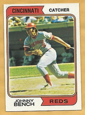 Johnny Bench Cincinnati Reds 1974 Topps Card #10 NM+ Sharp New Years Sale