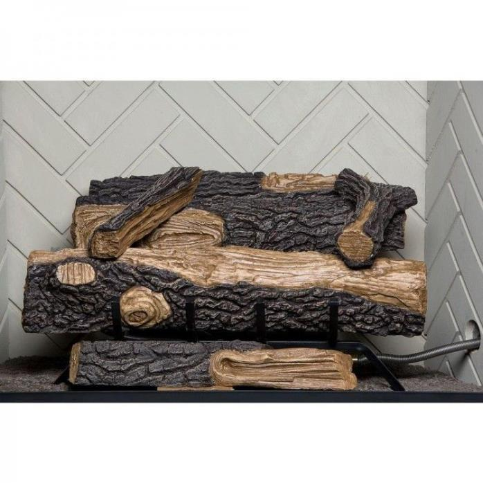 Gas Logs For Fireplace Vent Free Natural Home Decorative 24