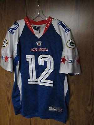 Aaron Rodgers Green Bay Packers 2010 Pro Bowl Football Jersey Reebok NFL sz 50