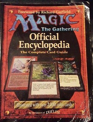 Magic the Gathering MTG Official Encyclopedia - 1996 original magic card guide