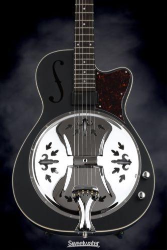 Washburn R60BCE Resonator - Mat (Guitar #16090007)