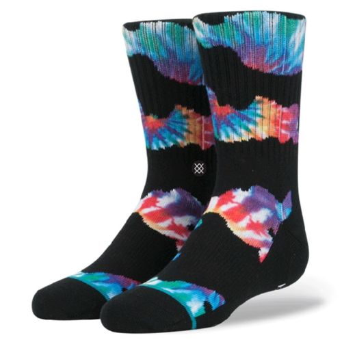 Stance Boy's Socks - Camo Trip - Black