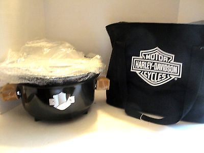 New Harley-Davidson Portable Charcoal BBQ Grill with Case