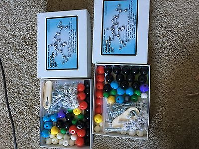 Organic Chemistry Set from Andrus Educational Supplies, Used Condition, Complete