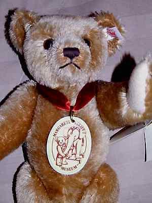 STEIFF MUSEUM TEDDY BEAR 2001