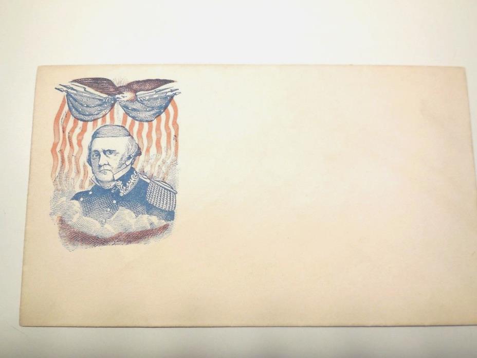 1860s ANTIQUE CIVIL WAR  MILITARY THREE ENVELOPES  UNUSED