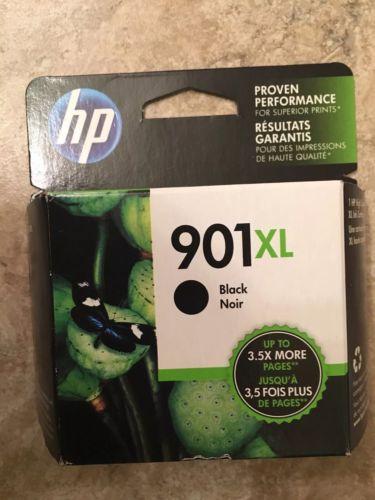 HP CC654AN (#901XL) Hewlett Packard High Capacity Black Ink Cartridge OEM
