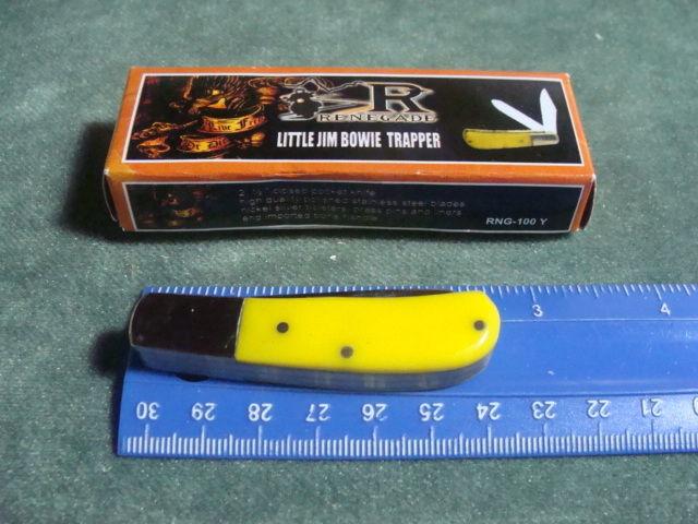 renegade little jim bowie pocket knife
