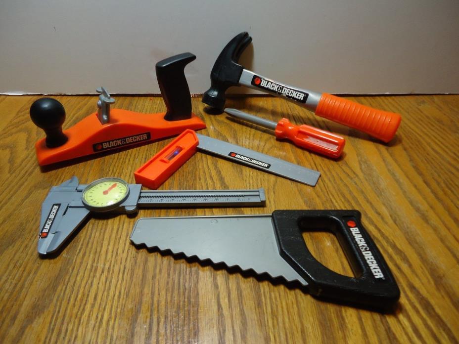 Play Pretend Black & Decker Tool Toy Set